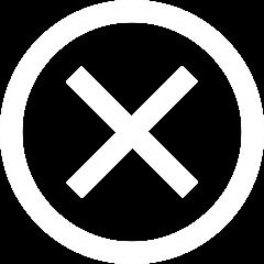 Button to close the popup menu.